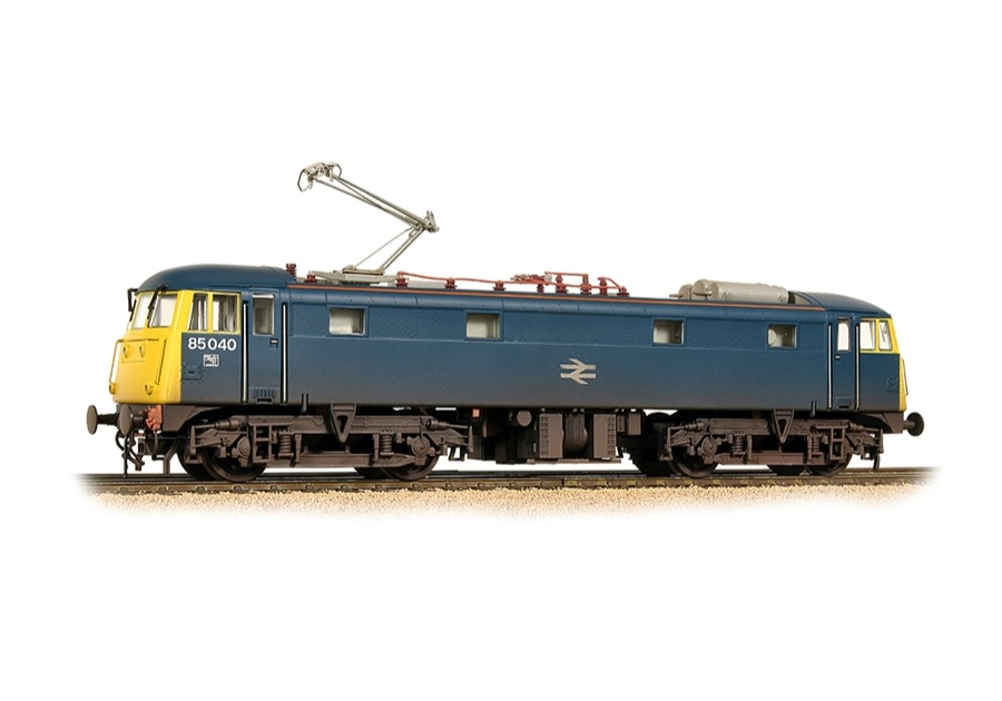Bachmann 31-678A Class 85 85040 BR Blue livery Weathered