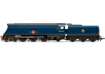 Hornby R3632 Merchant Navy Class East Asiatic Company