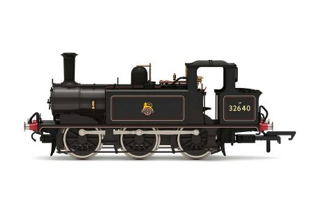 Hornby R30008 Terrier 32640 BR Black Early Crest